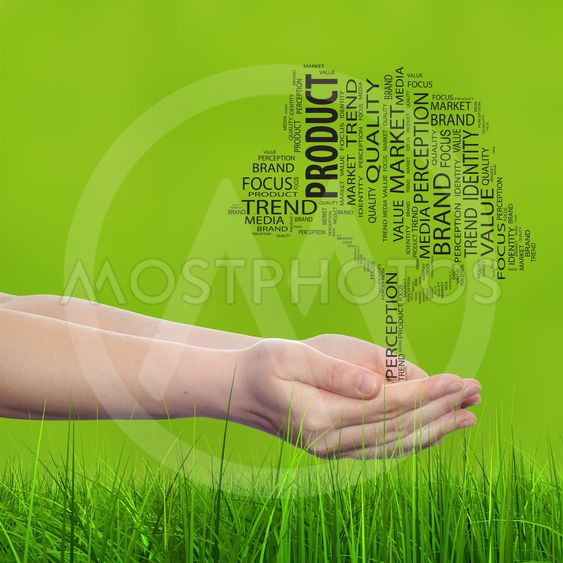 Concept or conceptual tree media word cloud tagcloud in...