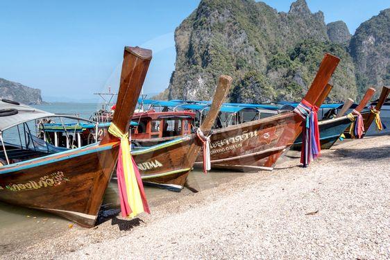 Longtail-båt