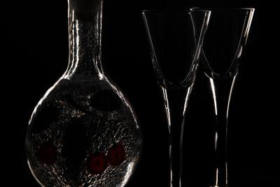 Glass in the dark
