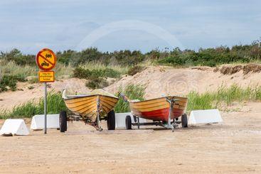 Beredskap på stranden