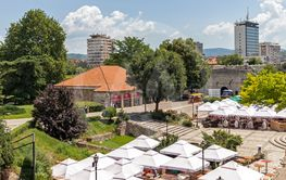 Panoramic view of City of Nis from Fortress, Serbia