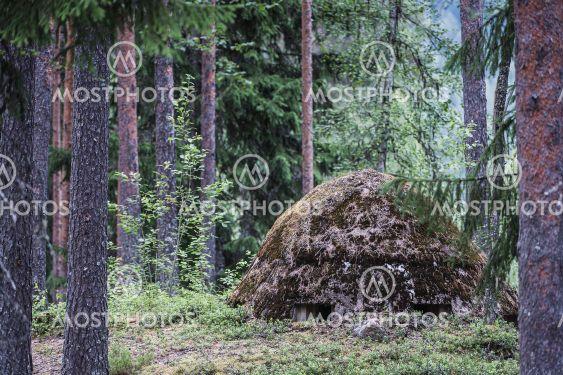 Skans 179, WW II defensive mound