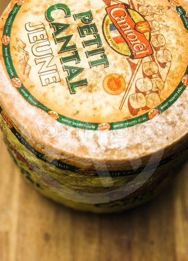 Petit cantal jeune cheese