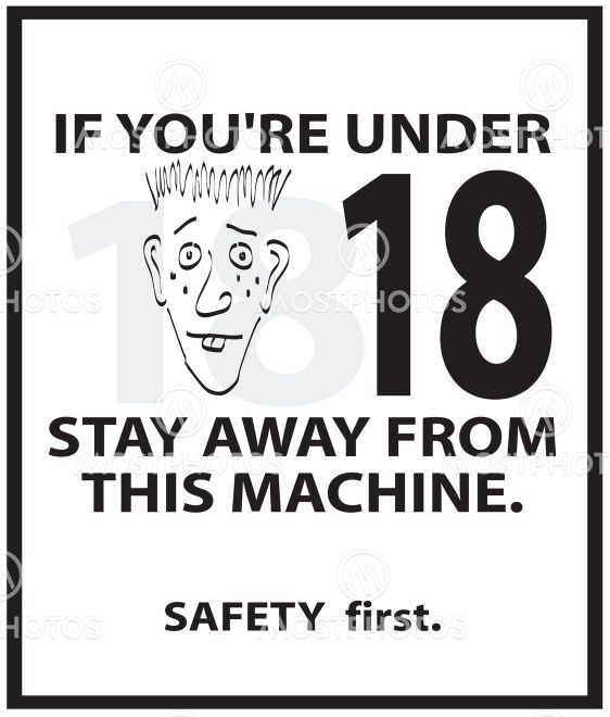 vector_safety_poster