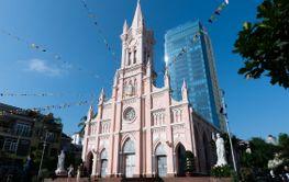 Da Nang Cathedral in Danang city