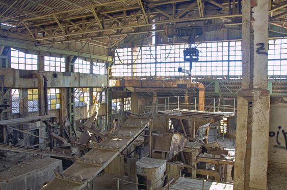 manufactures machinery abandoned coal processing