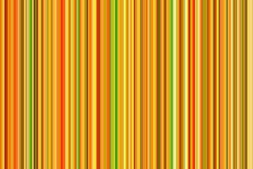 Vibrant orange and green color lines abstract background.