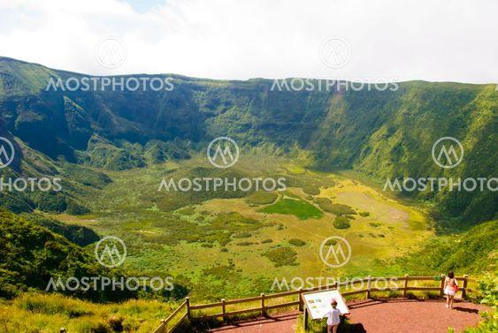 CALDEIRA gøre Faial, Azorerne