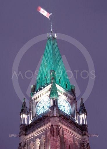 Night Peace Tower