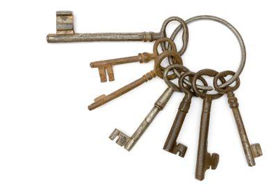 Rusty Bunch of Keys