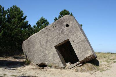 German war bunker in Denmark