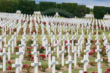 Cemetery First World War soldiers died at Battle of...