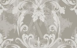 Baroque texture pattern Vector. Floral ornament...