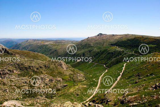 Vale Rossim Valley, Serra da Estrela Naturpark, Portugal