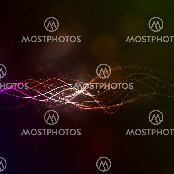 Abstrakti taustan valon vedot kanssa
