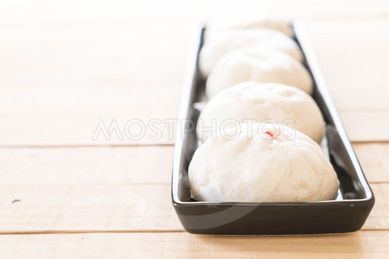 steamed dumpling or chinese bun