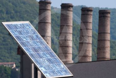 Solar Panel Contrast