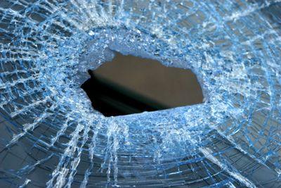 Broke window