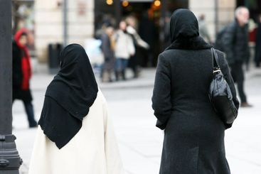 Two female muslims