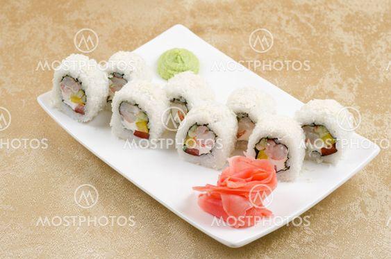 räkor sushi roll