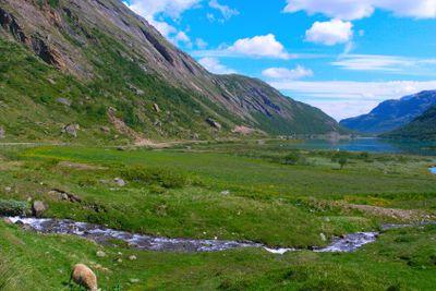 Lake in the Norwegian mountains