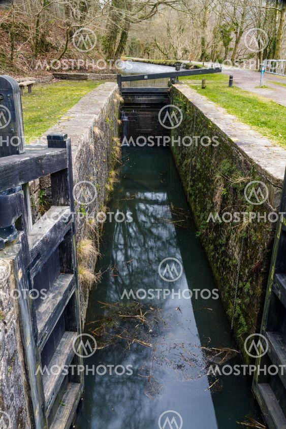 Canal lock, Neath  Canal.