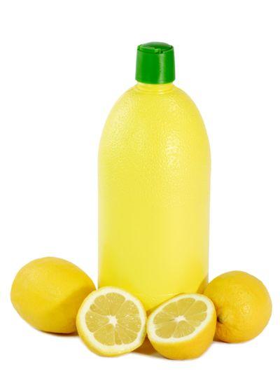 A Bottle Lemon concentrate