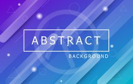 Colourful geometric background with dynamic shapes