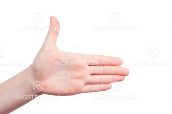 käden etumerkki