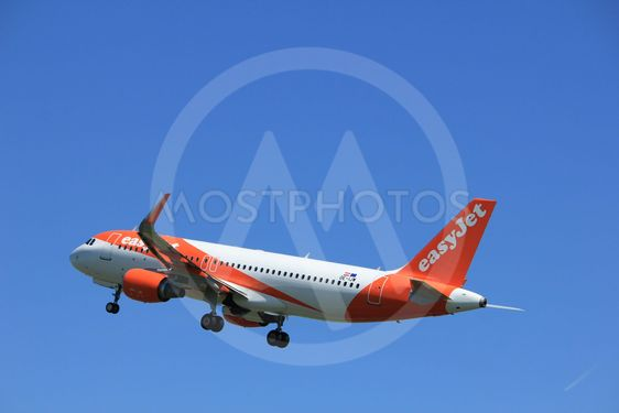 Amsterdam the Netherlands - May 4th 2018: OE-IJW easyJet...