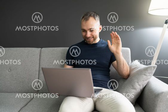 Online Video Conference Interview Chat