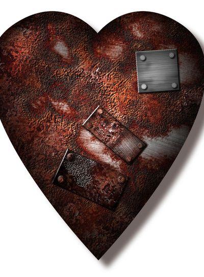 Worn repaired Heart