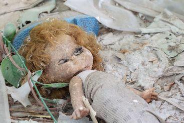 Dirty old doll Chernobyl