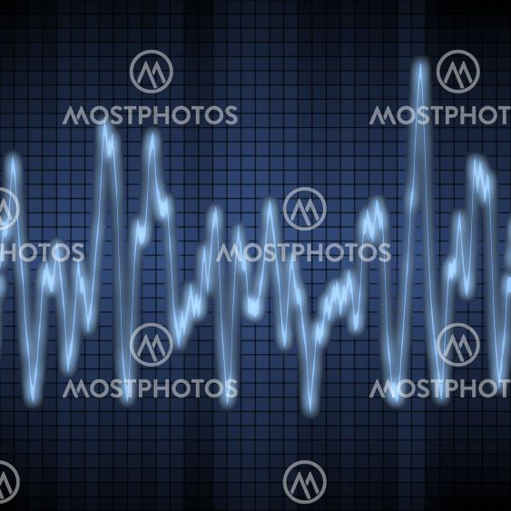 audio or sound wave