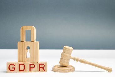 GDPR concept. Data Protection Regulation. Cyber security...