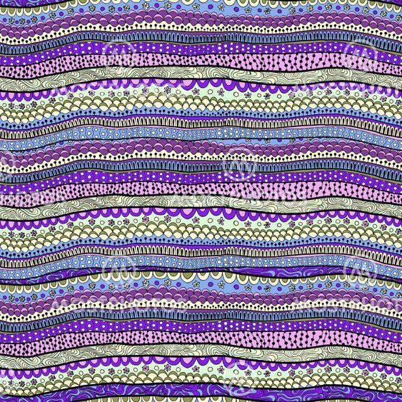 Original drawing tribal doddle ethnic pattern. Seamless...