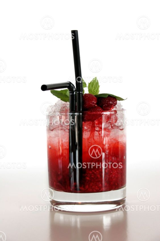 Rød drikke