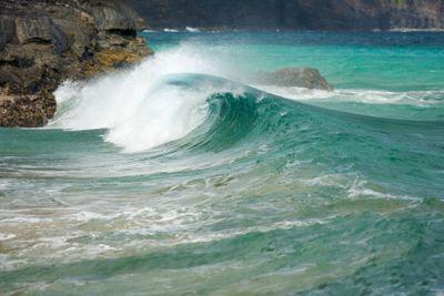 Crashing Wave on the Na Pali Coast
