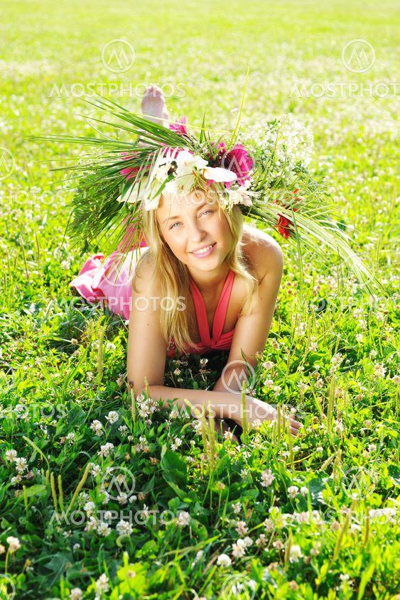 Meadow girl