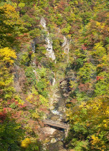 Naruko gorge, Miyagi, Japan.