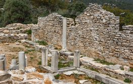 Archaeological area of Aliki, Thassos island, Greece