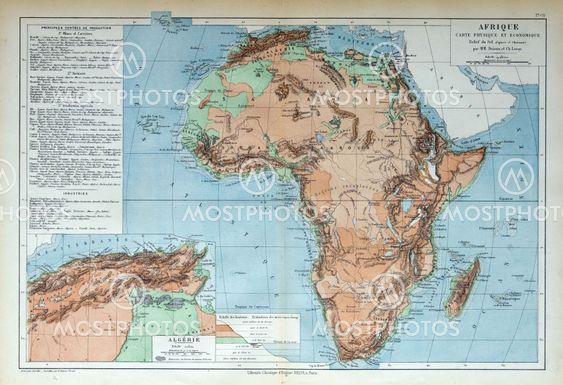 Michael Roberts N Kuva Vanha Kartta Afrikan 1883 Mostphotos