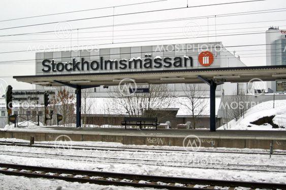 Karta Stockholmsmassan.Alvsjo Station With Stockho By Michael Erhardsson Mostphotos