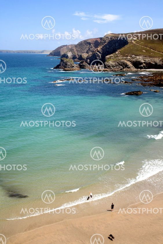 Trevaunance Cove, St. Agnes, Cornwall.