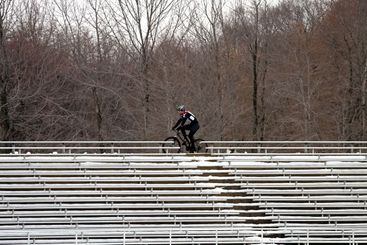 Cycling and Bleachers