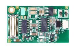 Small Circuit board closeup