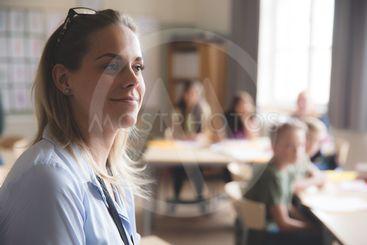 redovisning i klassrummet