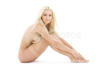 healthy naked blonde