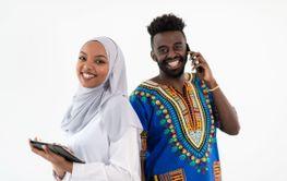 african business team