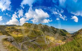 Panorama of Transfagarasan